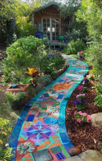 Inexpensive Diy Garden Landscaping Ideas On A Budget To Try 04