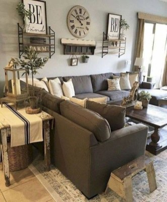 Popular Farmhouse Living Room Makeover Decor Ideas To Have Now 12