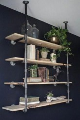 Rustic Diy Industrial Pipe Shelves Design Ideas For You 04