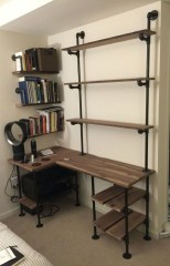 Rustic Diy Industrial Pipe Shelves Design Ideas For You 08