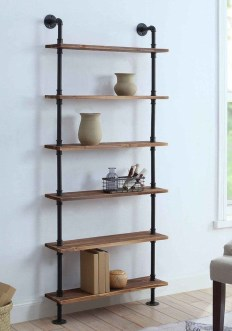 Rustic Diy Industrial Pipe Shelves Design Ideas For You 11