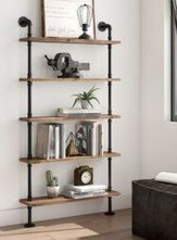 Rustic Diy Industrial Pipe Shelves Design Ideas For You 24
