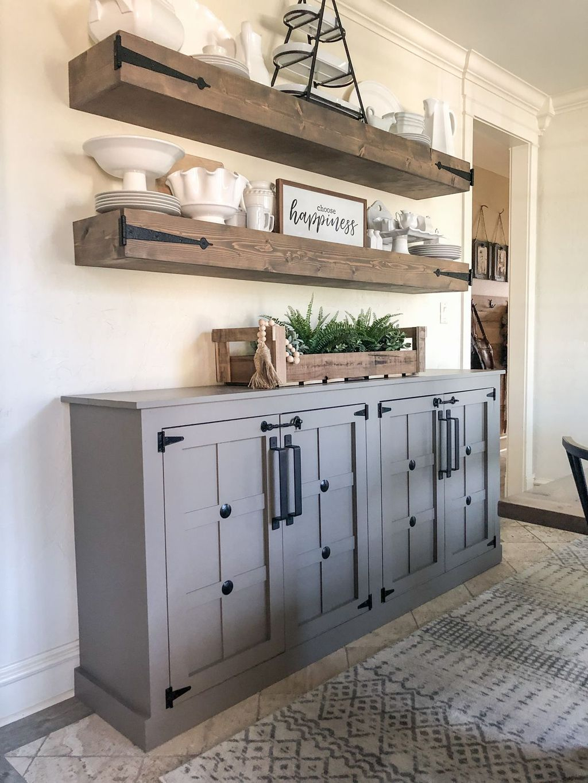 Rustic Farmhouse Furniture Design Ideas For Living Room 25