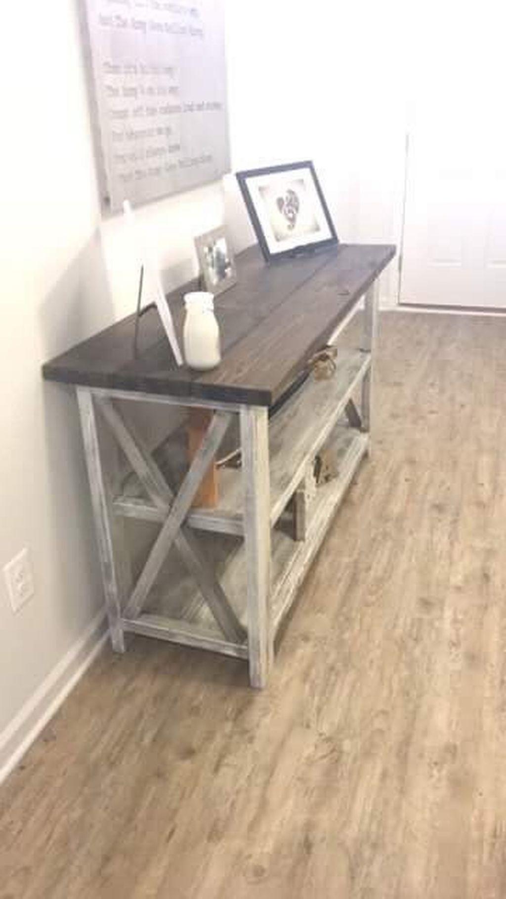 Rustic Farmhouse Furniture Design Ideas For Living Room 33