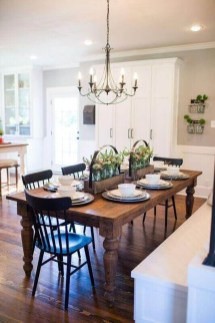 Splendid Dining Room Design Ideas With Farmhouse Table To Have 11