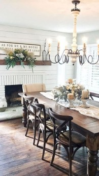 Splendid Dining Room Design Ideas With Farmhouse Table To Have 21