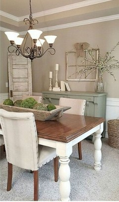 Splendid Dining Room Design Ideas With Farmhouse Table To Have 26