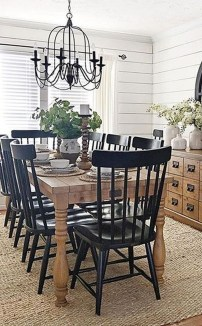 Splendid Dining Room Design Ideas With Farmhouse Table To Have 31