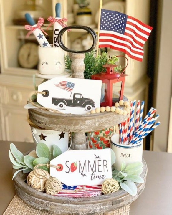 Vintage Farmhouse Summer Decor Ideas To Try Asap 37