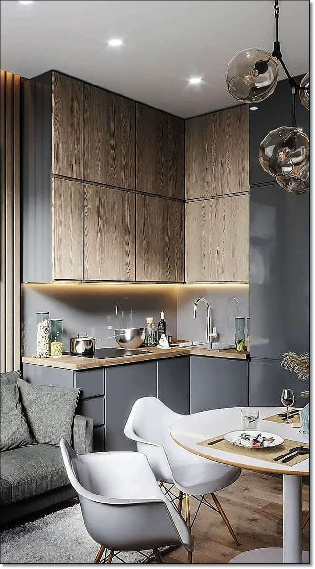 Brilliant Small Kitchen Remodel Design Ideas On A Budget 38