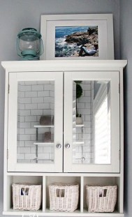 Classy Hanging Wall Cabinets Design Ideas You Must Have In Your Bathroom 02