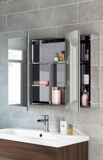Classy Hanging Wall Cabinets Design Ideas You Must Have In Your Bathroom 10