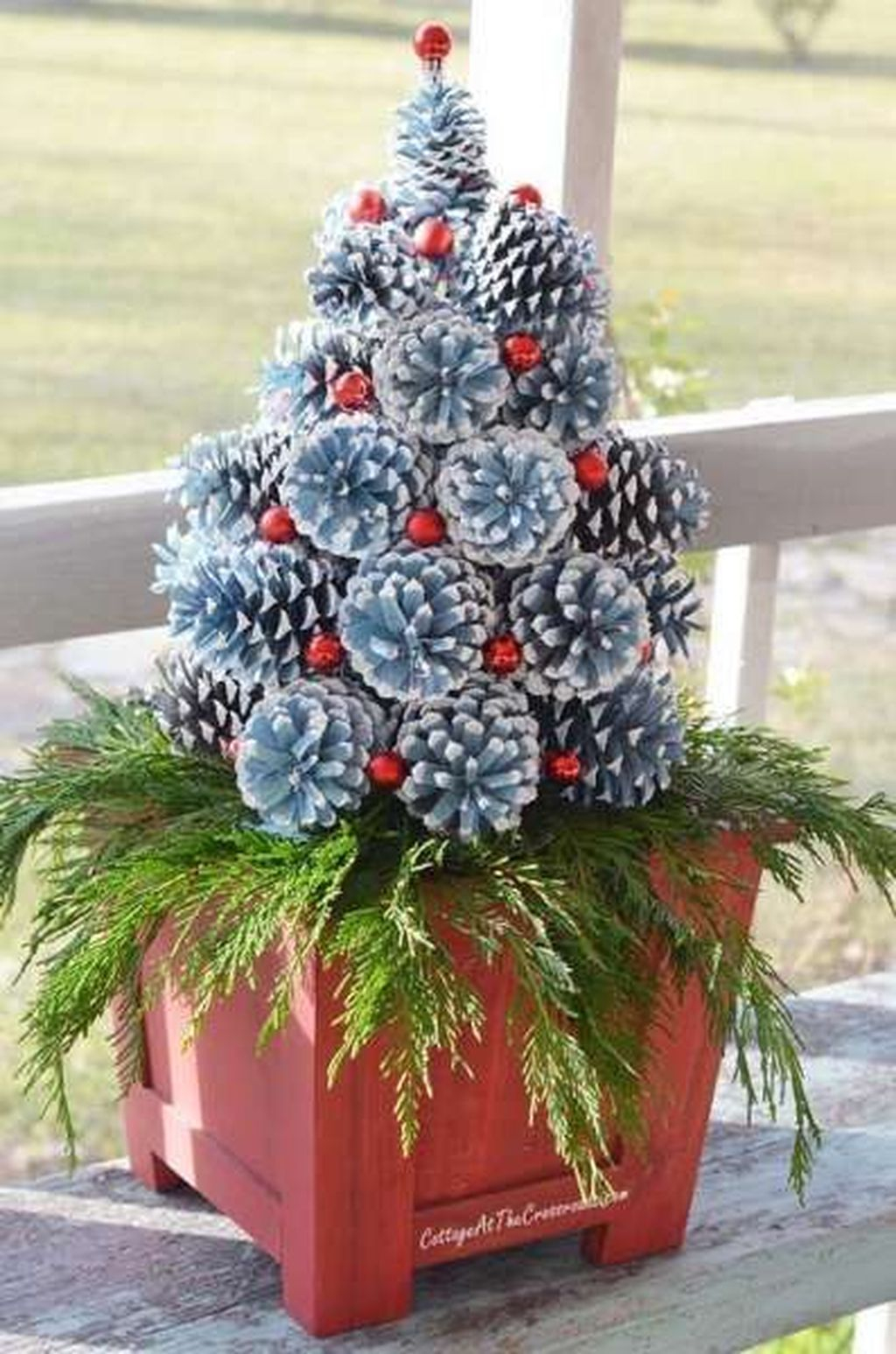 Dreamy Diy Christmas Cone Trees Design Ideas To Try Today 28
