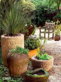 Dreamy Front Door Flower Pots Design Ideas To Increase Your Home Beauty 07
