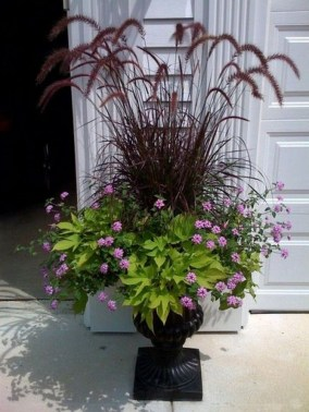 Dreamy Front Door Flower Pots Design Ideas To Increase Your Home Beauty 18