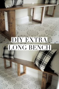 Enchanting Home Furniture Design Ideas With Diy Bench To Try 20