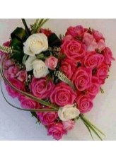 Excellent Valentine Floral Arrangements Ideas For Your Beloved People 16