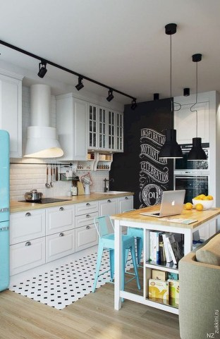 Incredible Small Kitchens Design Ideas That Space Saving 13