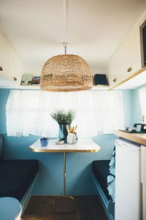 Lovely Caravans Design Ideas For Cozy Camping To Try 21