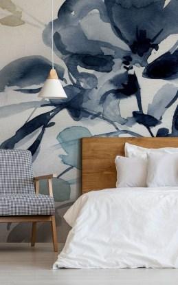 Relaxing Bedroom Wallpaper Decoration Ideas For Comfortable Bedroom 15