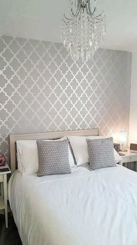 Relaxing Bedroom Wallpaper Decoration Ideas For Comfortable Bedroom 36