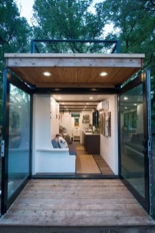 Sophisicated Container House Design Ideas For Comfortable Life 11