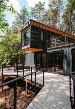 Sophisicated Container House Design Ideas For Comfortable Life 16