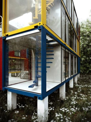 Sophisicated Container House Design Ideas For Comfortable Life 17
