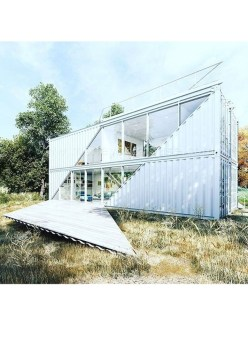 Sophisicated Container House Design Ideas For Comfortable Life 20