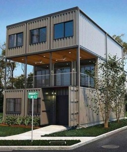 Sophisicated Container House Design Ideas For Comfortable Life 30