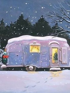 Sophisticated Christmas Rv Decorations Ideas For Valuable Moment 10