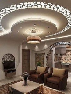 Surprising Living Room Design Ideas With Ceiling Light To Have 03