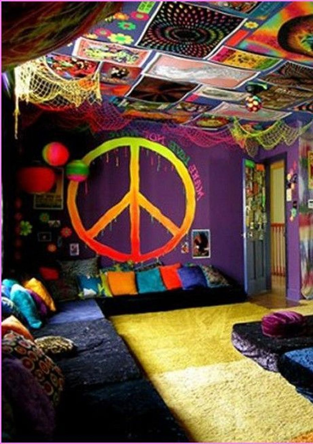 Unique Diy Hippie House Decor Ideas For Best Inspirations 24
