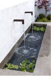 Affordable Small Front Garden Design Ideas With Fountain To Try 01