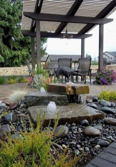 Affordable Small Front Garden Design Ideas With Fountain To Try 22
