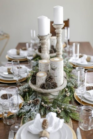 Beautiful Winter Centerpiece Decoration Ideas To Try Asap 13