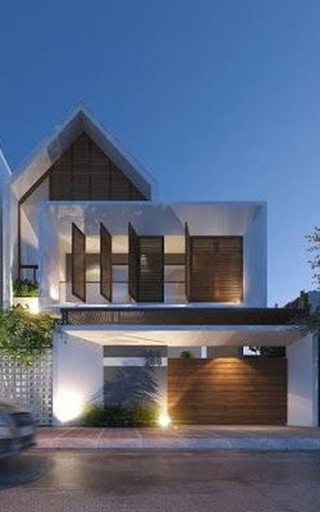 Best Minimalist Home Exterior Architecture Design Ideas To Try Today 16
