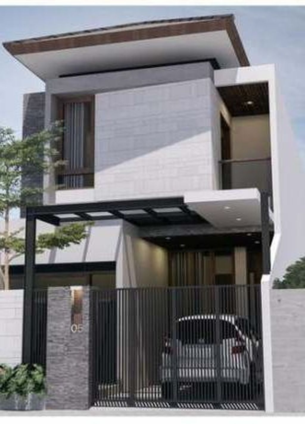 Best Minimalist Home Exterior Architecture Design Ideas To Try Today 31