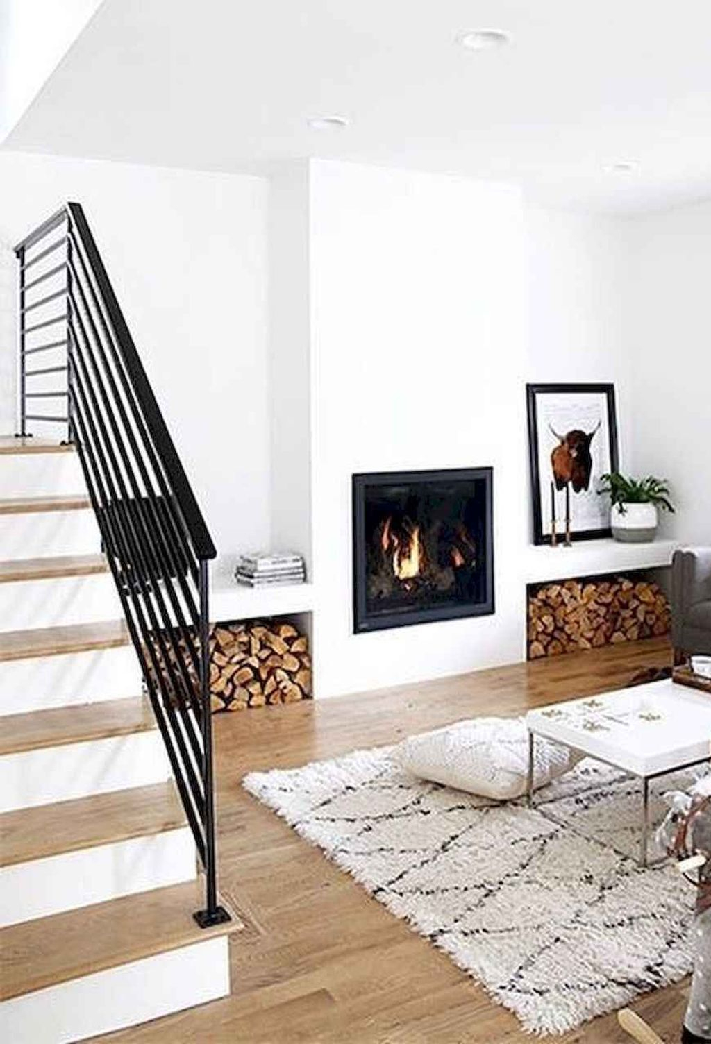 Cool Scandinavian Fireplace Design Ideas To Amaze Your Guests 07