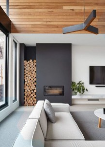 Cool Scandinavian Fireplace Design Ideas To Amaze Your Guests 11