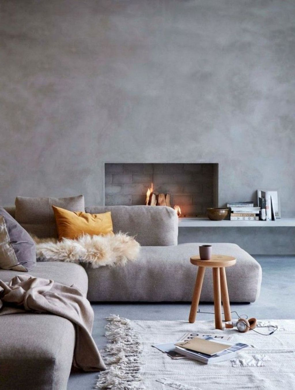 Cool Scandinavian Fireplace Design Ideas To Amaze Your Guests 19