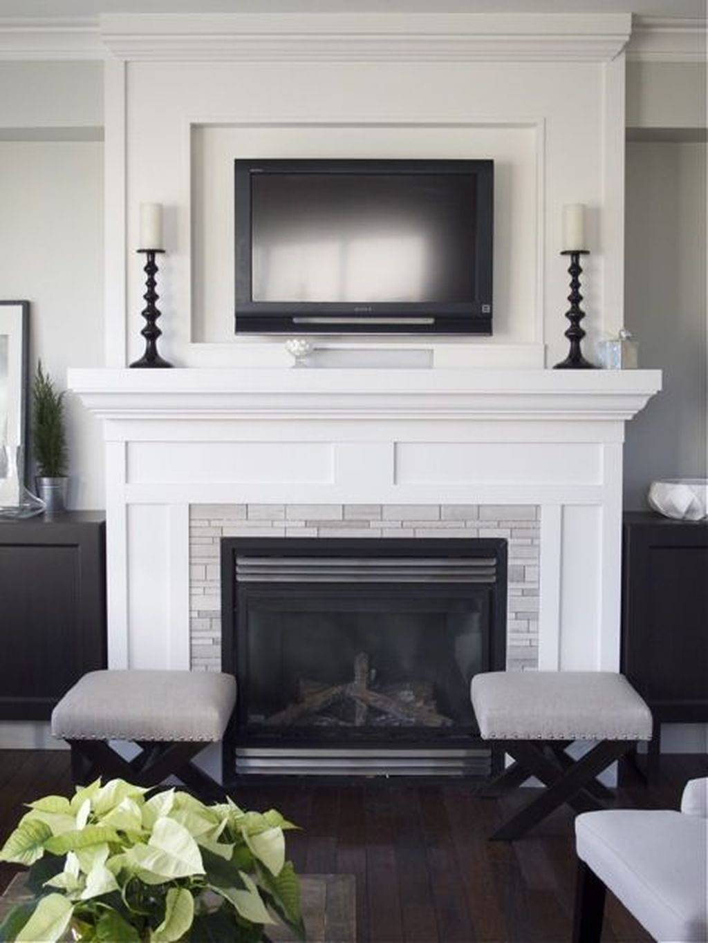 Cool Scandinavian Fireplace Design Ideas To Amaze Your Guests 31