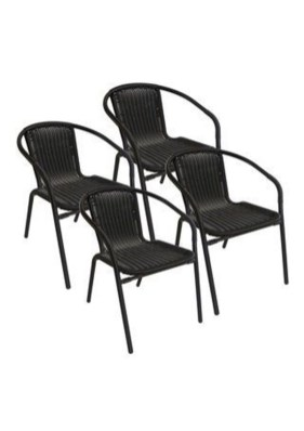 Cute Black Rattan Chairs Designs Ideas To Try This Year 17