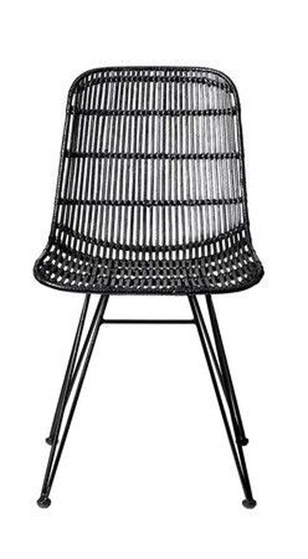 Cute Black Rattan Chairs Designs Ideas To Try This Year 28