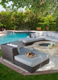 Cute Cabana Swimming Pool Design Ideas That Looks Charming 02