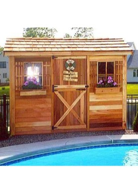 Cute Cabana Swimming Pool Design Ideas That Looks Charming 08