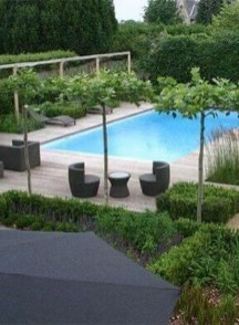 Cute Cabana Swimming Pool Design Ideas That Looks Charming 18