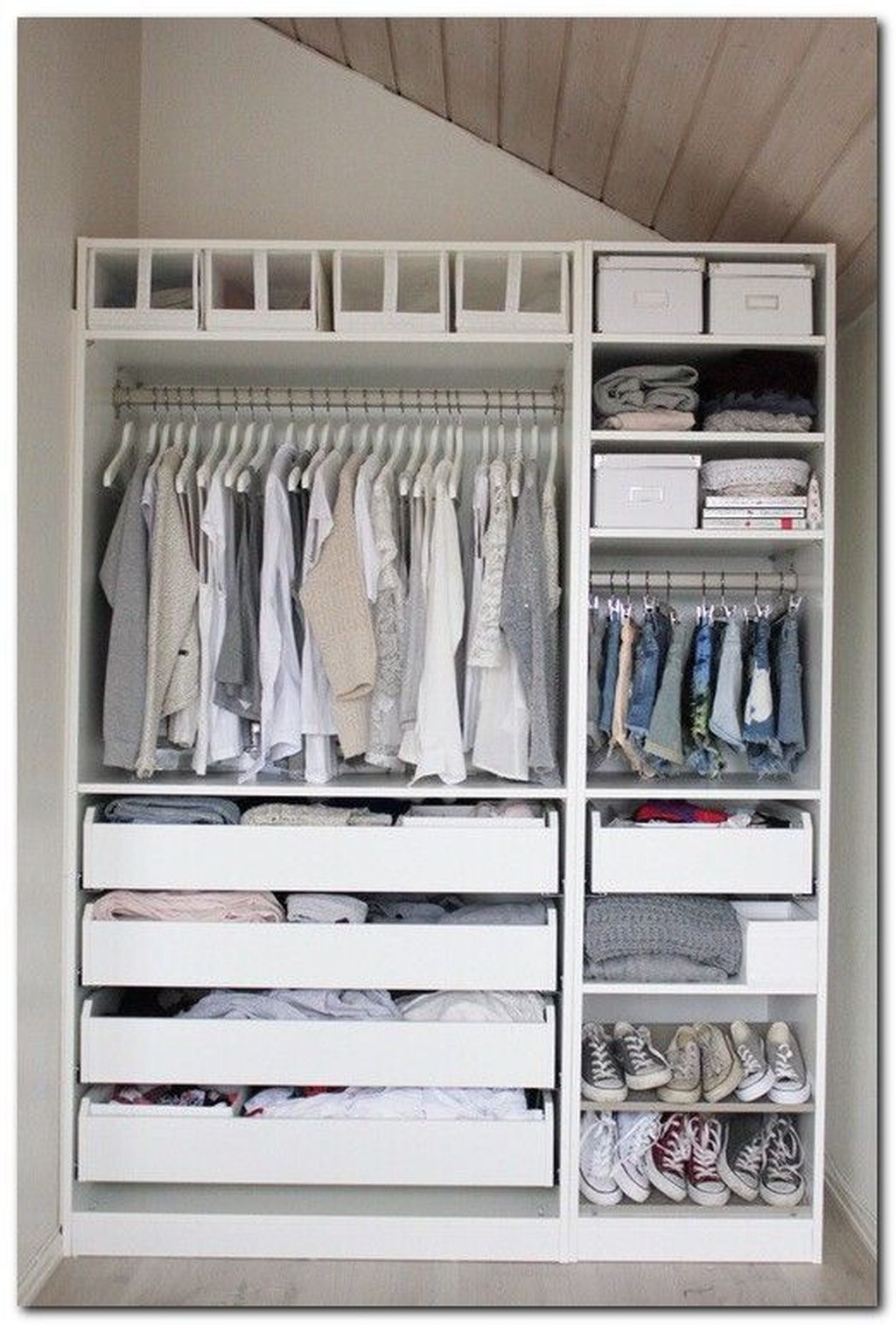 Dreamy Bedroom Organization Ideas That Will Enhance Home Storage 07