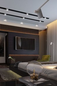 Enjoying Bedroom Design Ideas With Wall Tv To Try 07