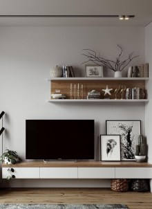 Enjoying Bedroom Design Ideas With Wall Tv To Try 21